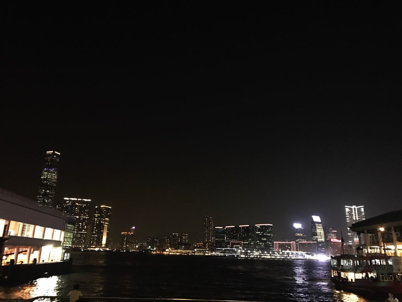 Central pier Central Pier Night Night View Harbour View Victoria Harbour ICC Tst Ferry Eight O'clock The Week On EyeEm