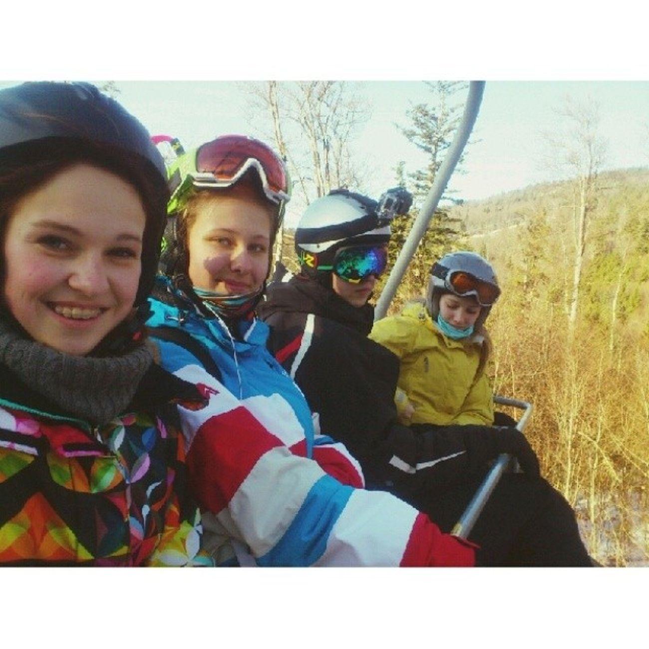 Сплотившиеся сноубордисты!  насвсеещемало