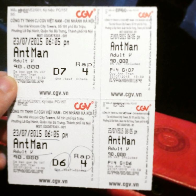 AntMan Heroes Don't Get Any Bigger🐜 On A Date Him ❤ Enjoying Life CGV Cinema
