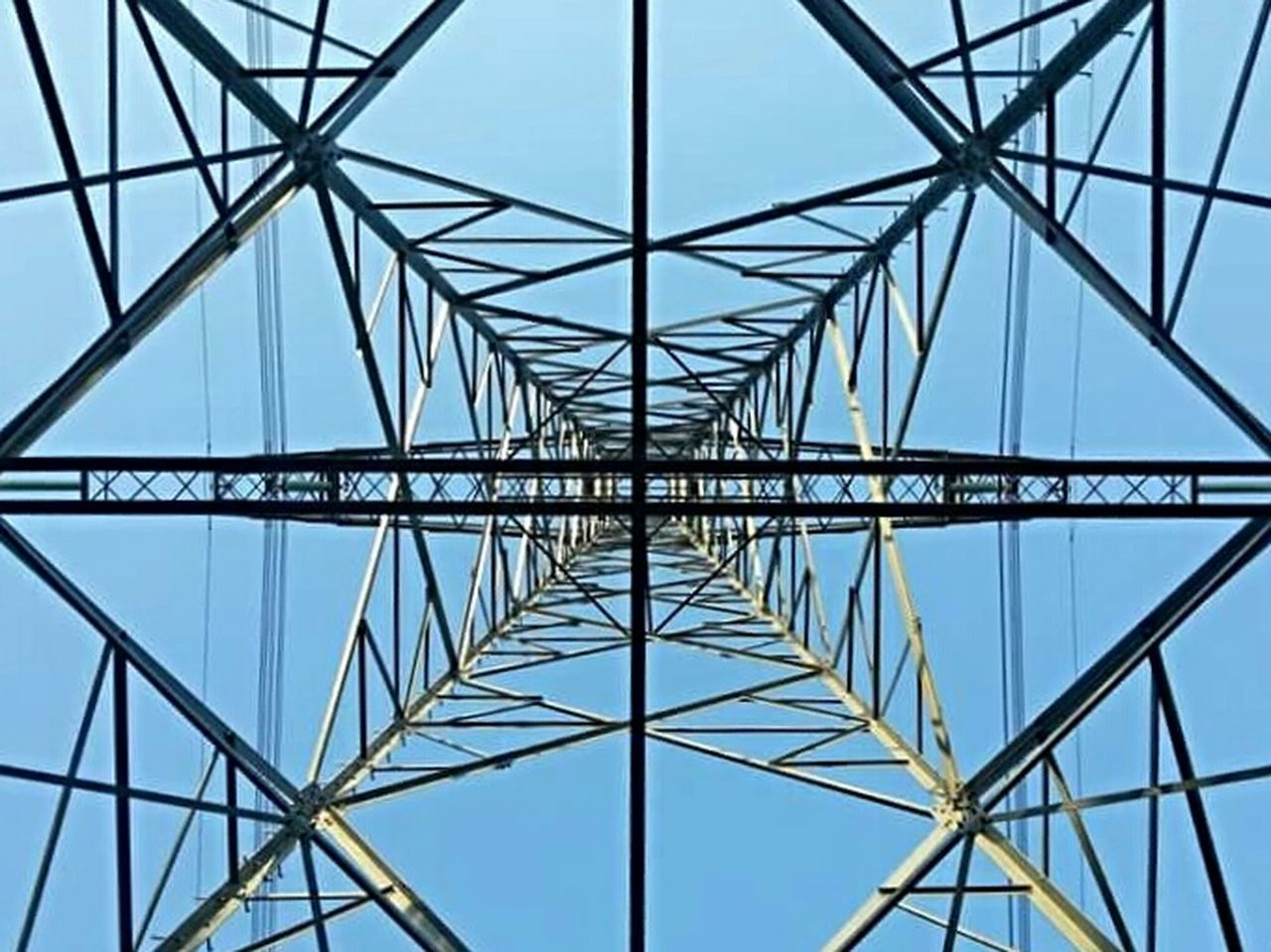 Geometric Shapes Electric current mast in Almelo Photography Eye4photography  Electric Tower  Nice View