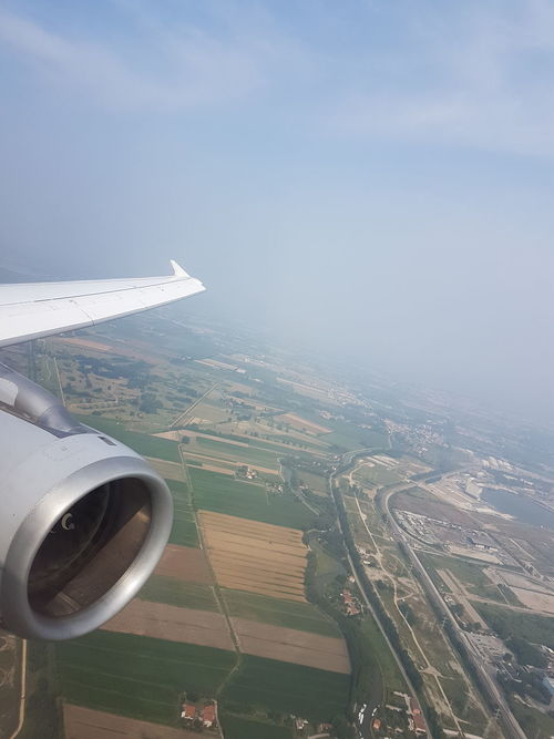 Hello Venice - Landed at VCE