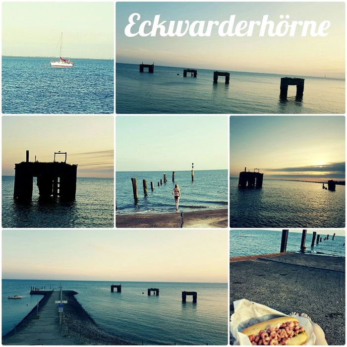 Eckwarderhörne Nordsee Northsea Germany Ocean Docks Olddocks Olddock Butjadingen Water Feelfree Best  Sunset Summer Horizon Over Water Myfavoriteplace EyeEm Nature Lover MyFavorite  EyeEm Best Shots Butjadingen My Favorite Place
