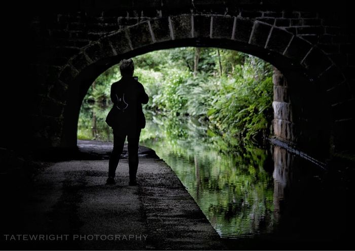 Uppermill Canals And Waterways Saddleworth Landscape_Collection Reflections In The Water