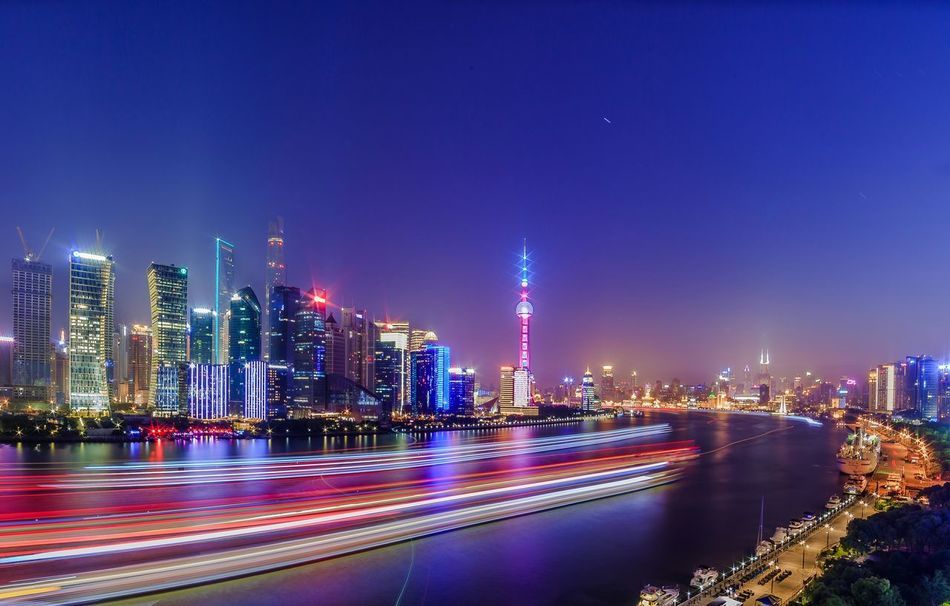 Beautiful stock photos of shanghai, Architecture, Blue, Building Exterior, Built Structure