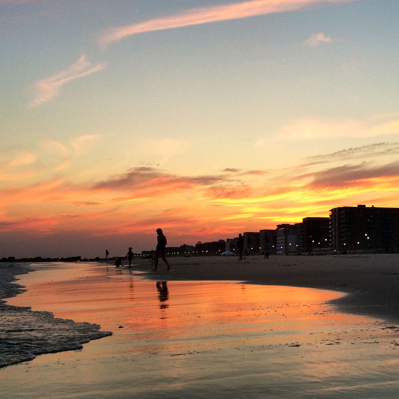 Sunset At Long Beach, NY EyeEm Best Shots Splendid_reflections Visualmagic