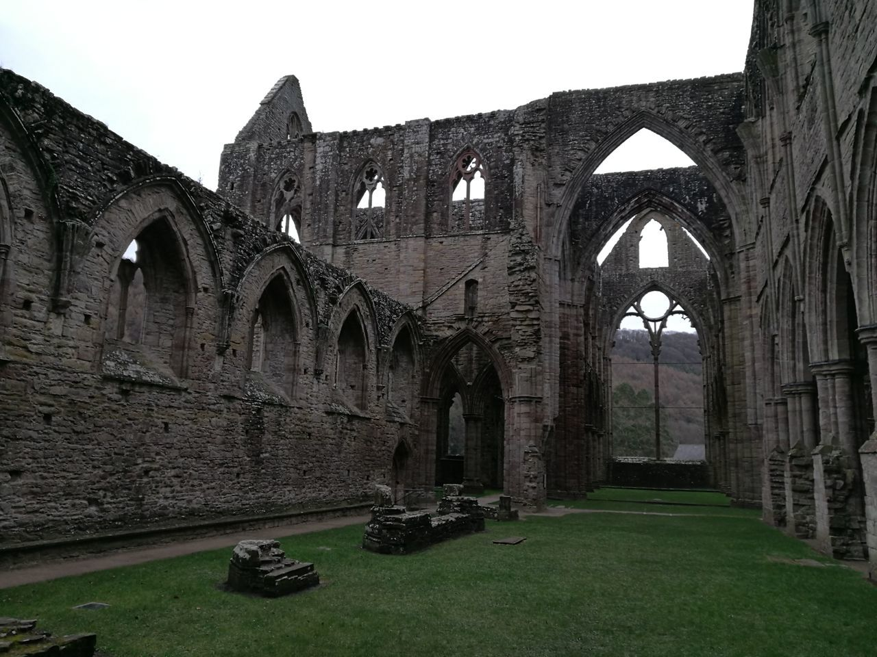 Built Structure No People History Architecture Decay And Dereliction Beauty Of Decay Ancient Old Ruin Abbey Tinternabbey Architecture Ancient Civilization Arch Architectural Column