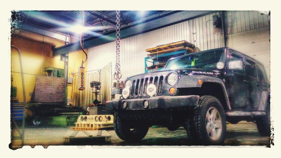 Jeep Rubicon Jeep Life Meinautomoment Car Jeep Wrangler  Machinery Machine Tool Workshop