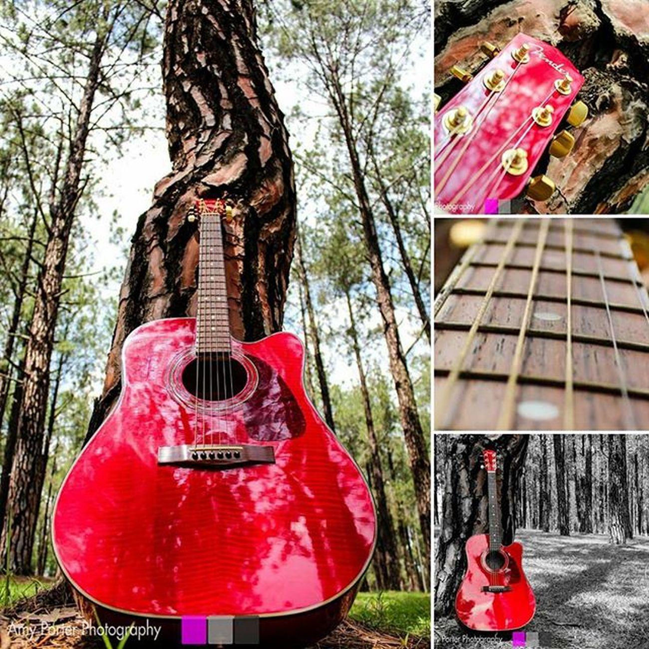 IgersJozi Fender Fenderacoustic Ladyinred Amyporterphotography