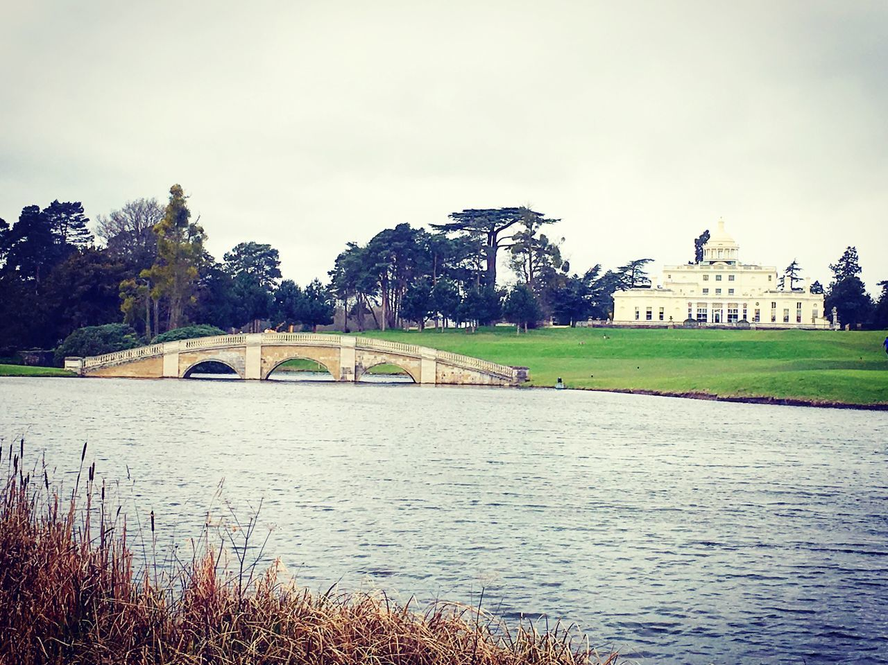 Architecture Building Exterior Tree Built Structure Water Sky Outdoors River Growth Day Nature Grass Travel Destinations Waterfront No People People In The Background Beauty In Nature Stoke Park Stoke Poges Estate Grand Architecture Countryside Country Life