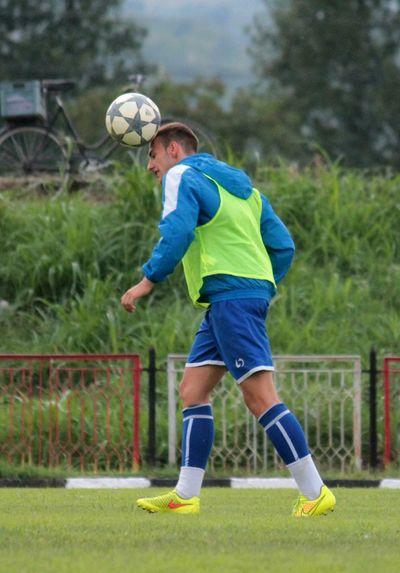 The Moment - 2015 EyeEm Awards Football Ball Soccer Football Player Football Training Football Stadium Grass Green Soccer Game