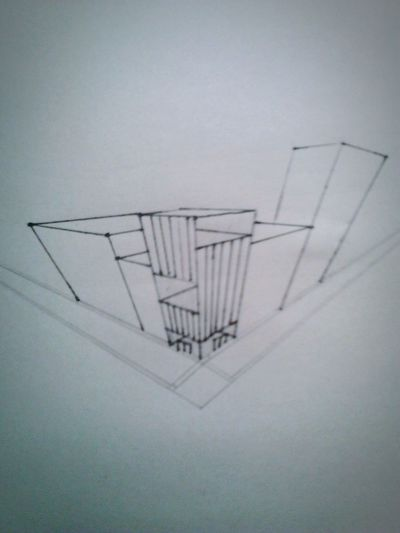Drawing on hot summer days. Summer ☀ Architecture