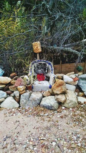 Stone Sculpture Beach Staten Island