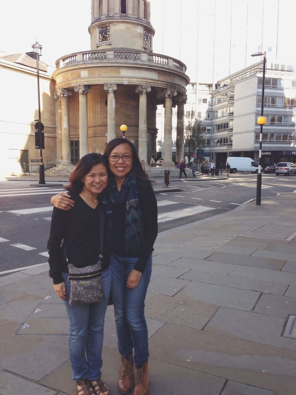 It was so nice to see my old buddy in London!