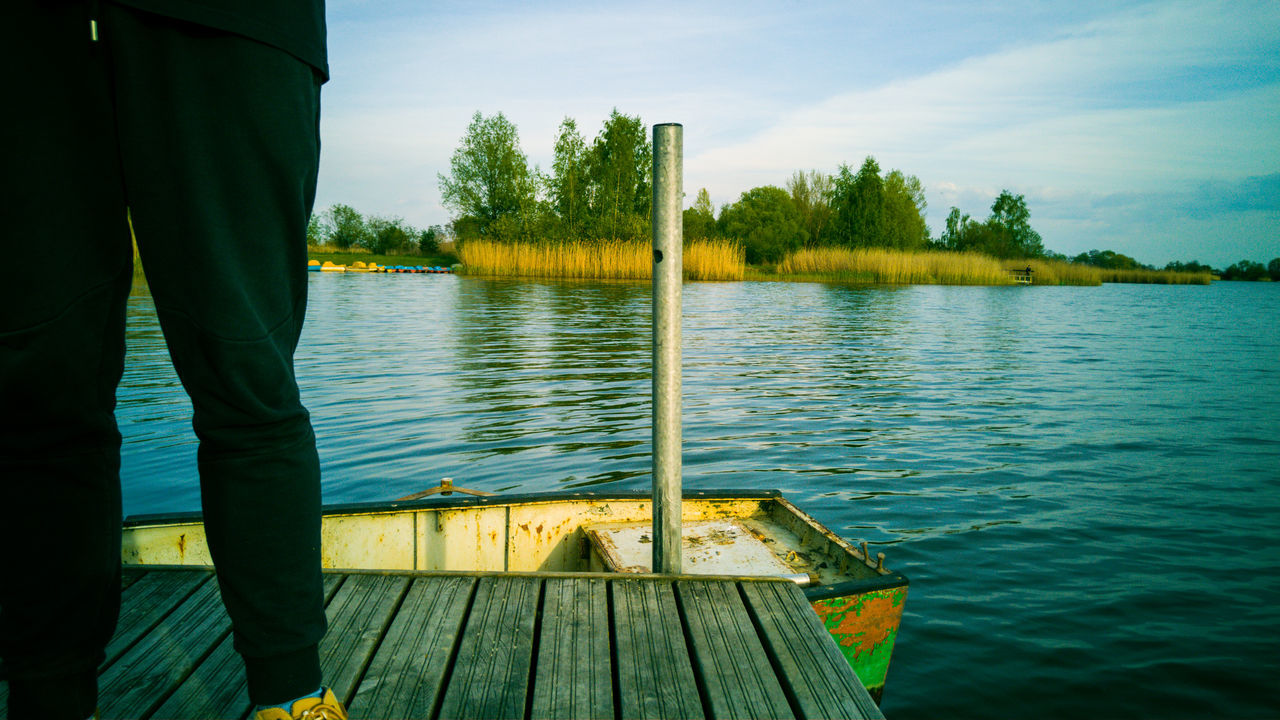 #bay #boat #grass #indie #pale #pond #portrait #river #Style #trees #vintage #water