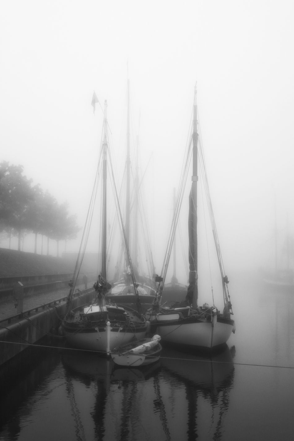 Kieler Förde Bestoftheday Awesome_shots Black And White Collection  Streetphotography Eyem Best Shots Beautiful Nature_collection Foggy Morning Eye For Photography