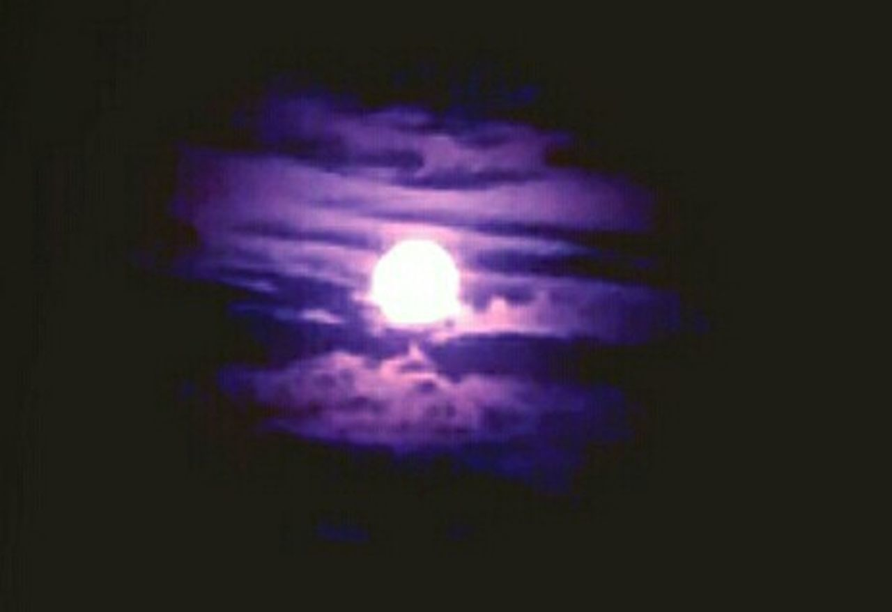Moon Purple Moon