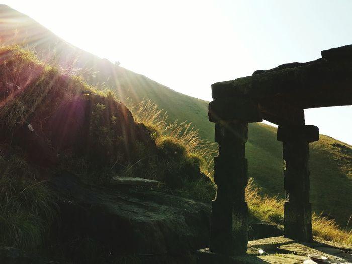 Kallu Mantapa EyeEm Selects The Week On EyeEm Kumara Parvatha Beauty In Nature Sky Outdoors Landscape Mountain