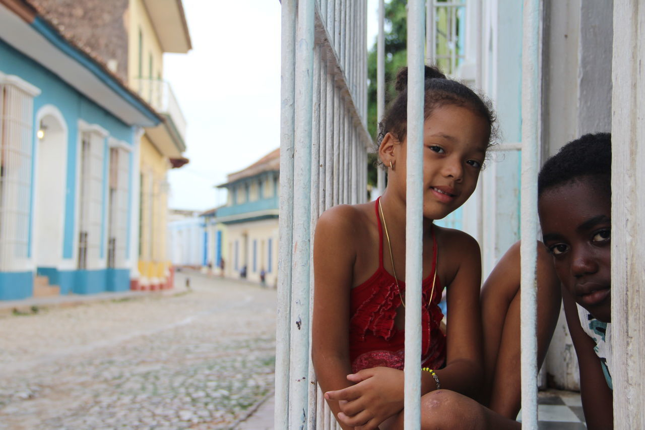 Cuba Cubanos Noliberty Childhood Elementary Age Focus On Foreground Hapiness Real People Sadness Sincerity