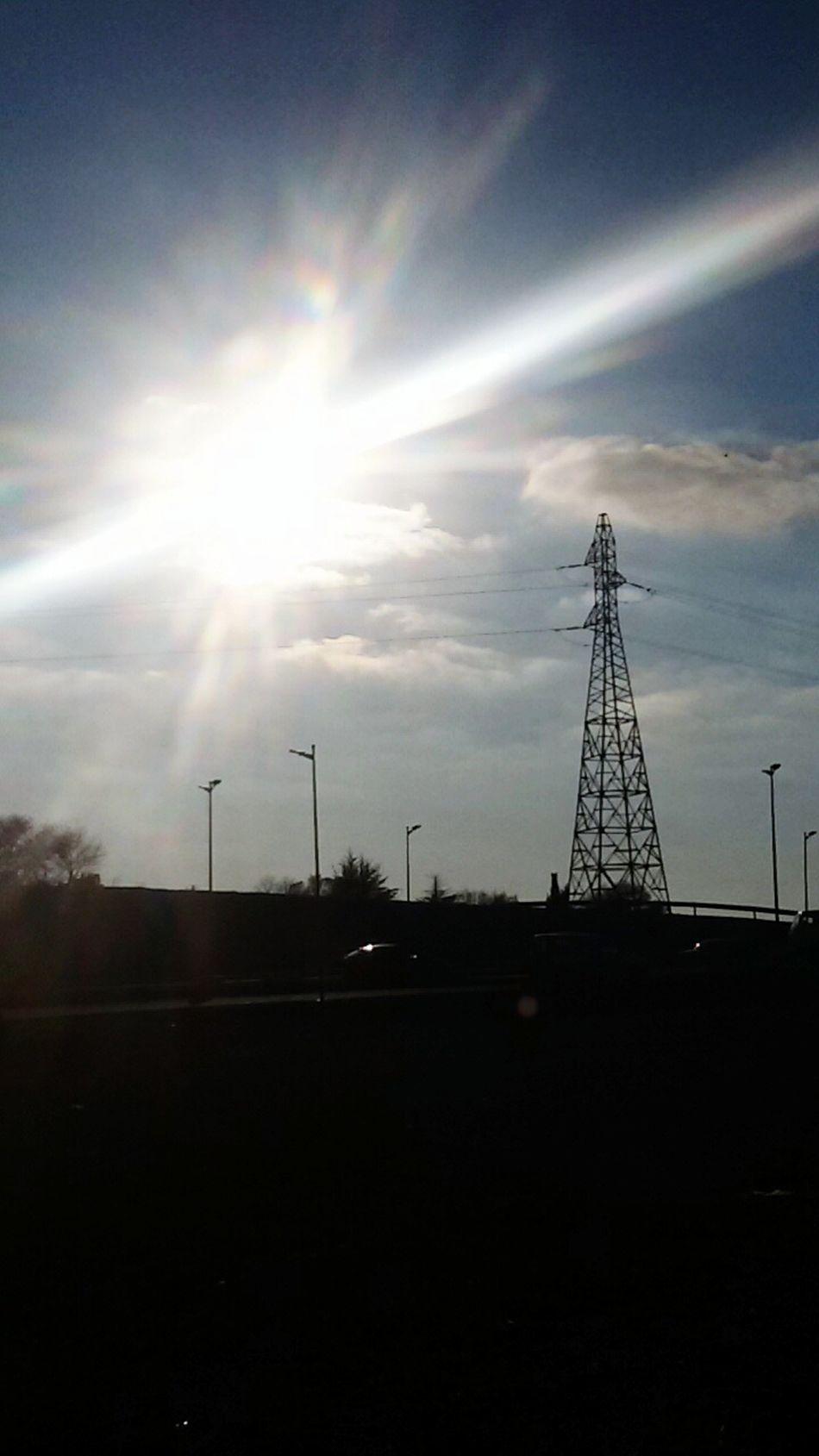 Sunlight No People WeekOnEyeEm Taking Photos Sun Day Electric Tower