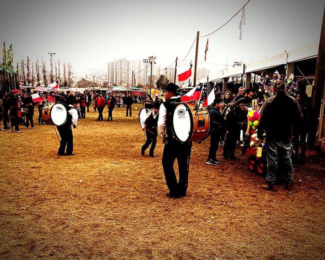 Chinchineros Fiestas Patrias Chilenas Musicos Populares Chile 🇨🇱 Cultura Chilena Típicamente Party Of Chile