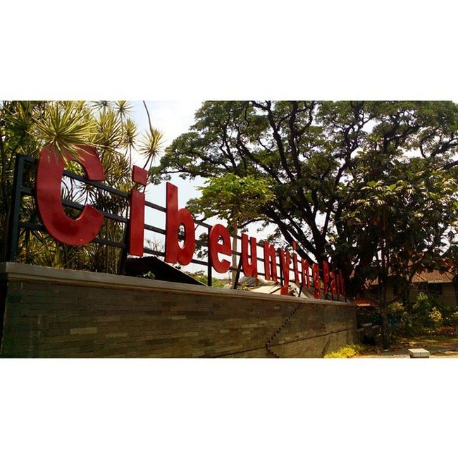 Cibeunying park. Vscobdg Bdgjuara Bandung