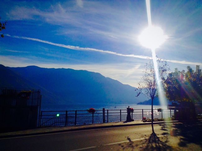 Lake Como Afternoon Sun Blinded By The Light Tremezzo Lazy