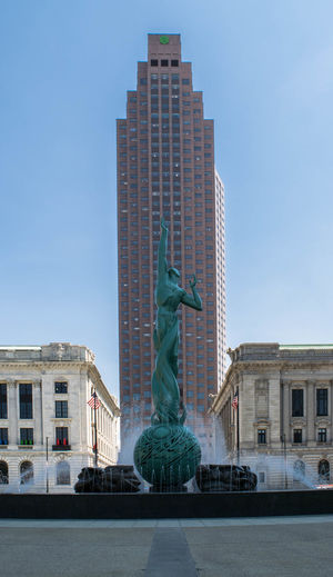 Amateurphotographer  Amateurphotography Architecture Architecture Art Cavaliers Cityscapes Cleveland Clevelandgram Clouds And Sky Critiques_welcome Day Downtown Fountain Fountain Of Eternal Life Lake Erie Mall A No People Ohio, USA Outdoors Sky Statue Travel Destinations Urban War Memorial