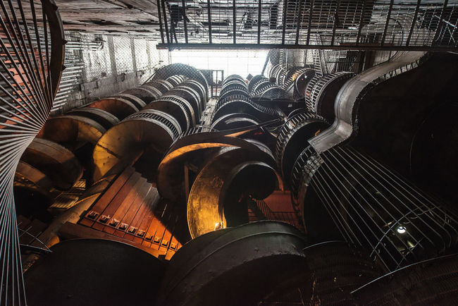 In A Row Industrial Large Group Of Objects Metal No People Repetition Side By Side Spiral Staircase Staircase Stairs The Architect - 2016 EyeEm Awards Envision The Future