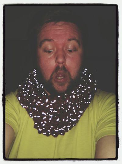 Da sind Glühwürmchen auf meinem Loop Maleknitting Knitting