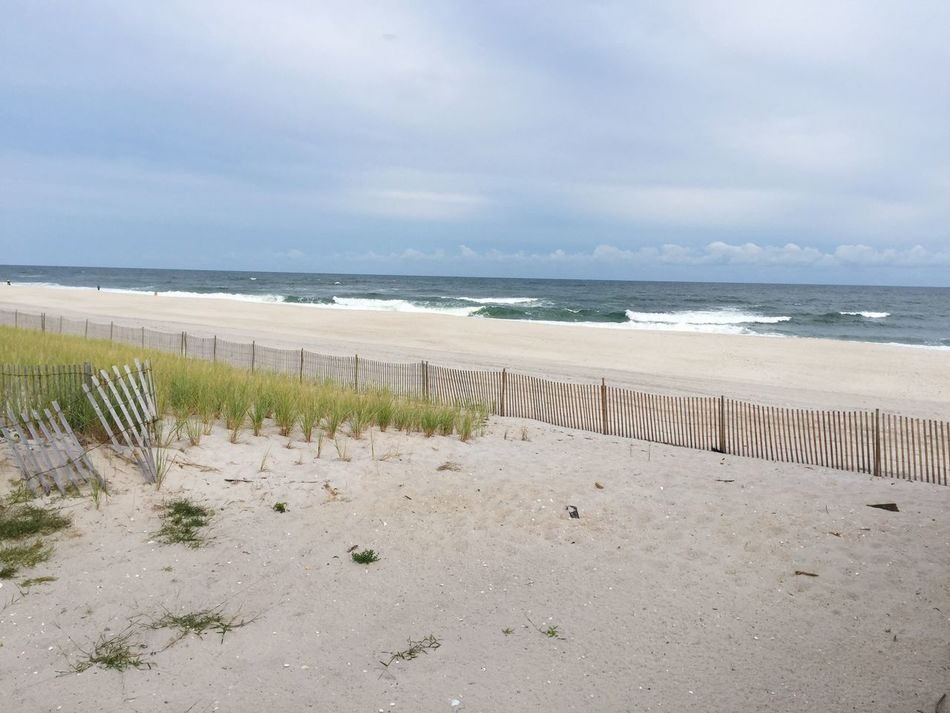 Beach Sea Horizon Over Water Coastline Shore Calm Nature Fire Island NY