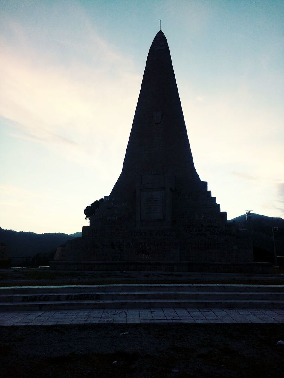 Triangle Shape Space And Astronomy History Monument Pyramid Shape No People Pyramid Architecture Outdoors Day Sky Business Finance And Industry Place Of Worship Astronomy Clock
