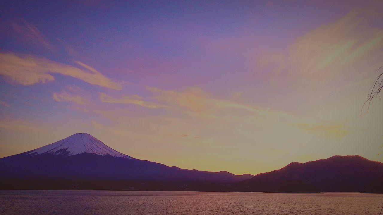 山中湖 Yamanaka Lake Of Japan Fujisan 富士山