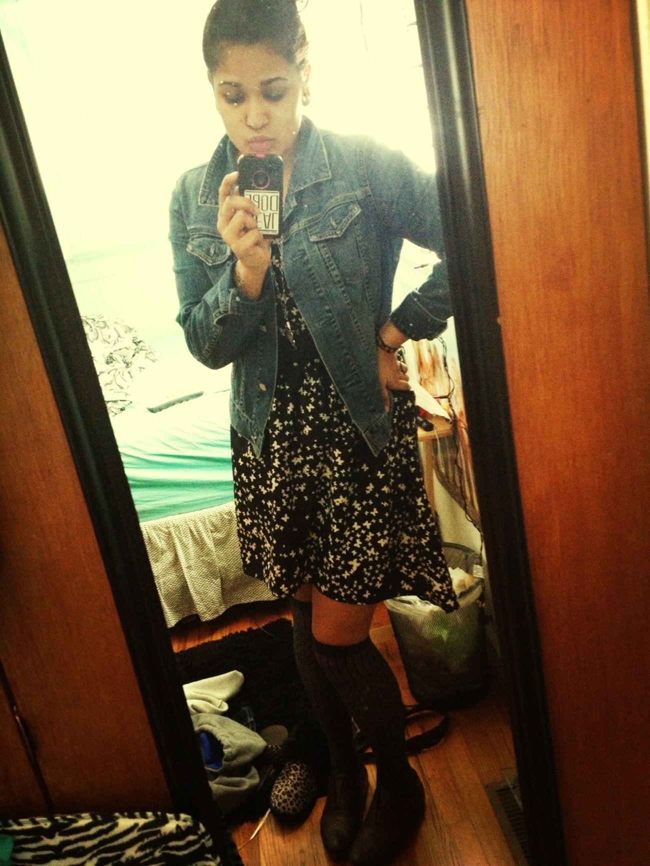 Lil hipster girl