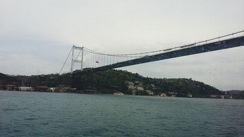 Business Finance And Industry No People Built Structure Industry Architecture Istanbul Turkey Fatih Sultan Mehmet Koprusu Sky City Sea Cloud - Sky Suspension Bridge Architecture