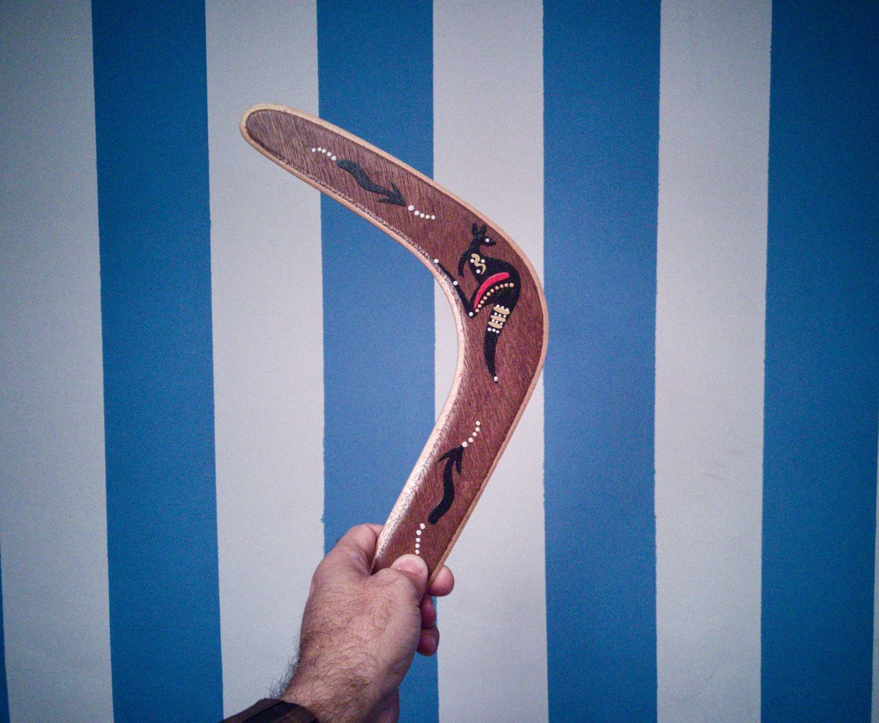 Boomerang human hand human body part archival close-up one person indoors EyeEm Team Vintage Style strips Lieblingsteil