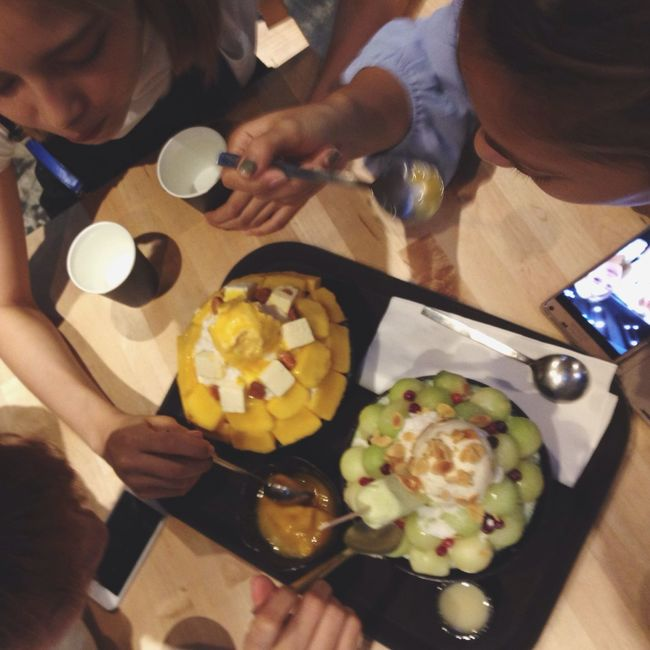 Enjoy Eating Enjoying Life Enjoy Time Favorite Photo Desserts Dessert Porn Meeting Friends Bingsu SeoBingGo