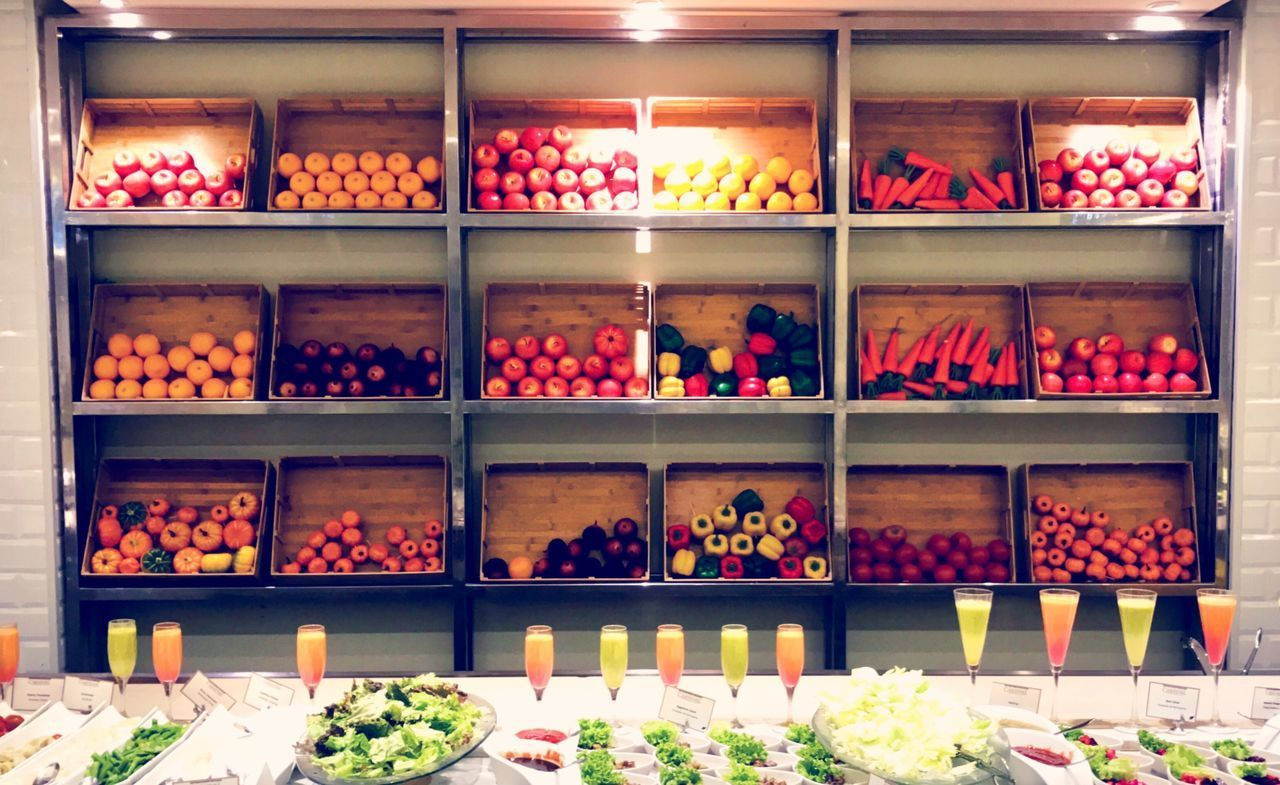 Visual Feast Shelf Shelves Indoors  Large Group Of Objects Arrangement Food For Sale Food And Drink Variation No People Choice Freshness Healthy Eating Day