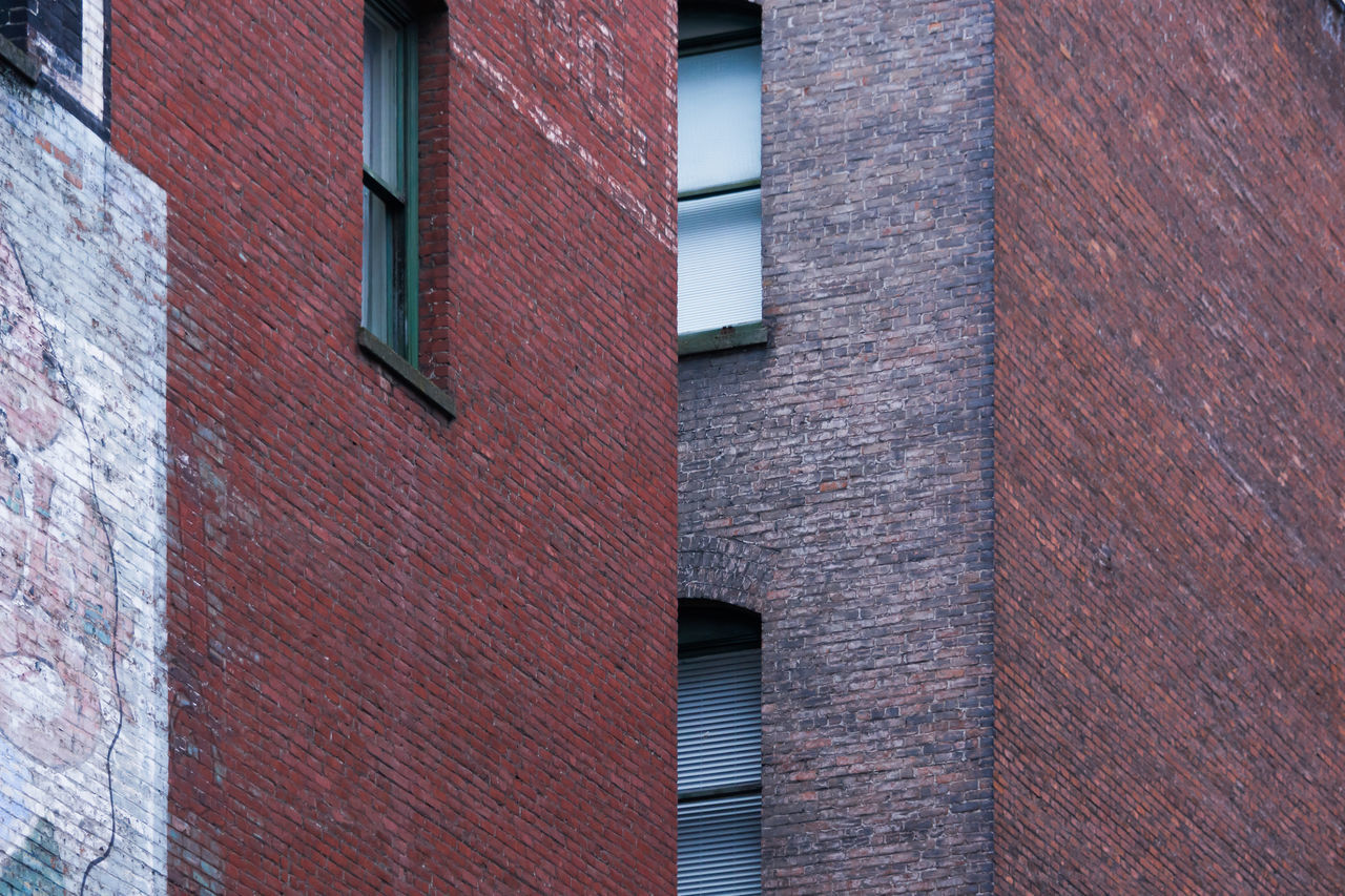 Architecture Brick Wall Building Exterior Built Structure Close-up Day Low Angle View No People Outdoors Window