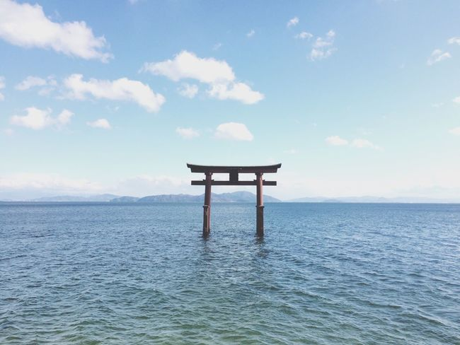 Lake View Water_collection Shrine 琵琶湖