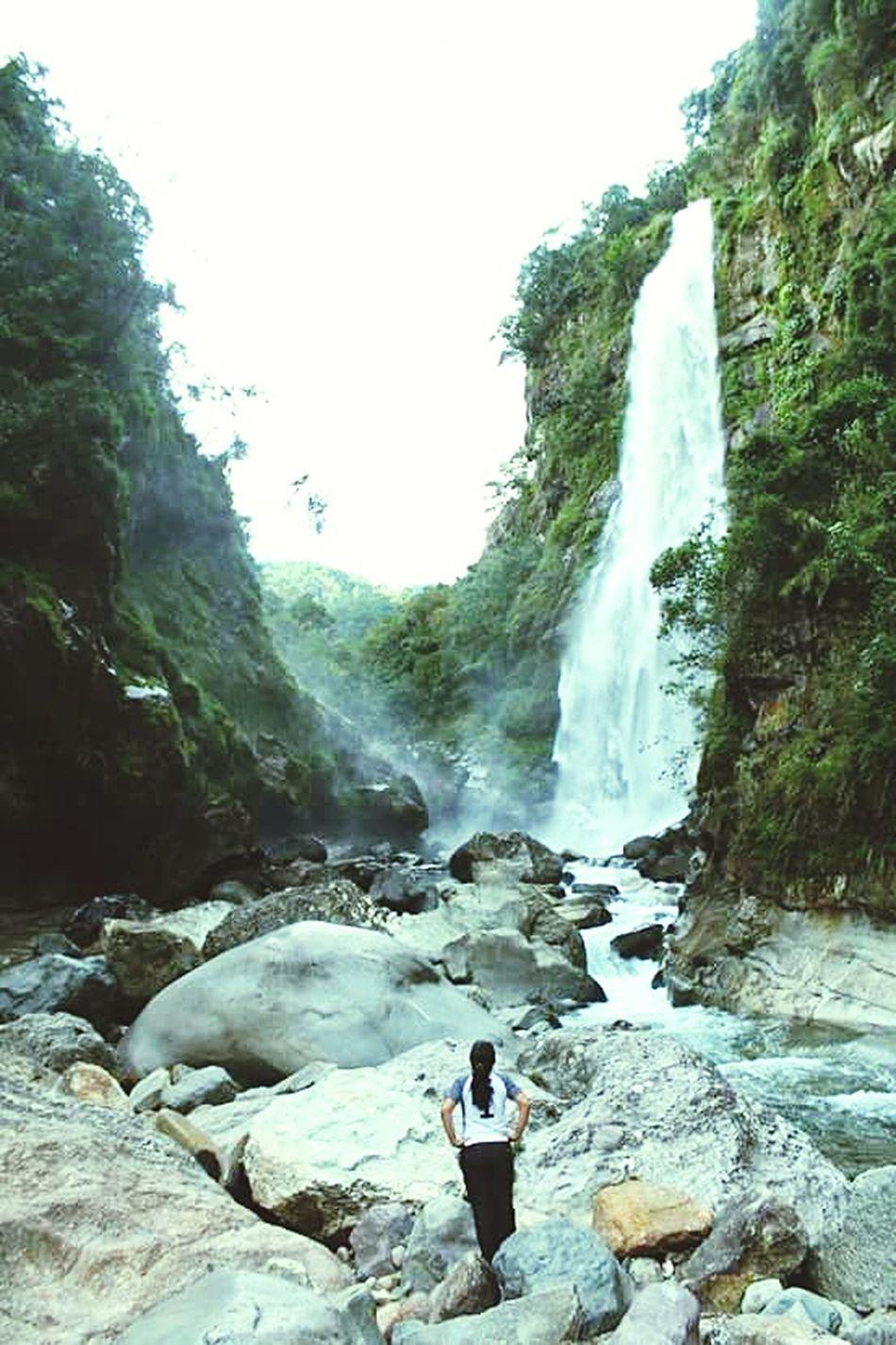 Waterfall Water Flowing Water Beauty In Nature Nature Tourism Flowing Wheninsagada Sagada Adventure Meditation Sagada, Philippines