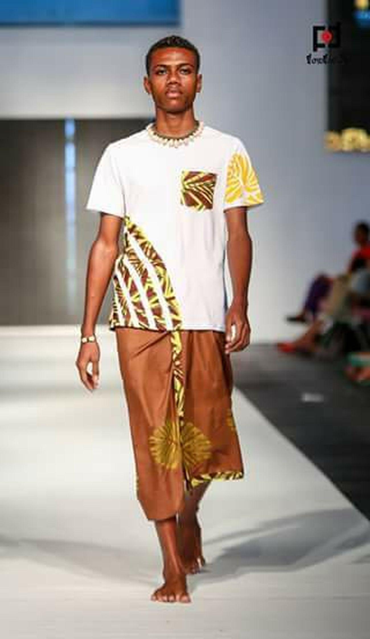 2015 fiji fashion week wearing shaneel denzal ,modelLifekilled the runway