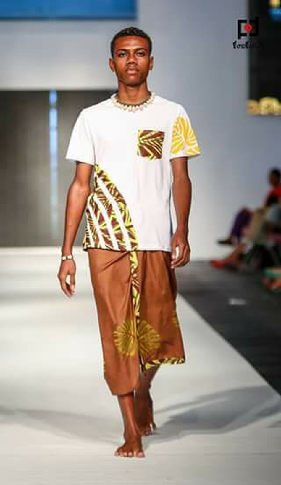 2015 fiji fashion week wearing shaneel denzal ,modelLifekilled the runway
