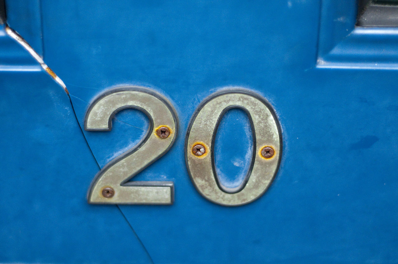 20 Battered Door Door Number House Number Women Worn House