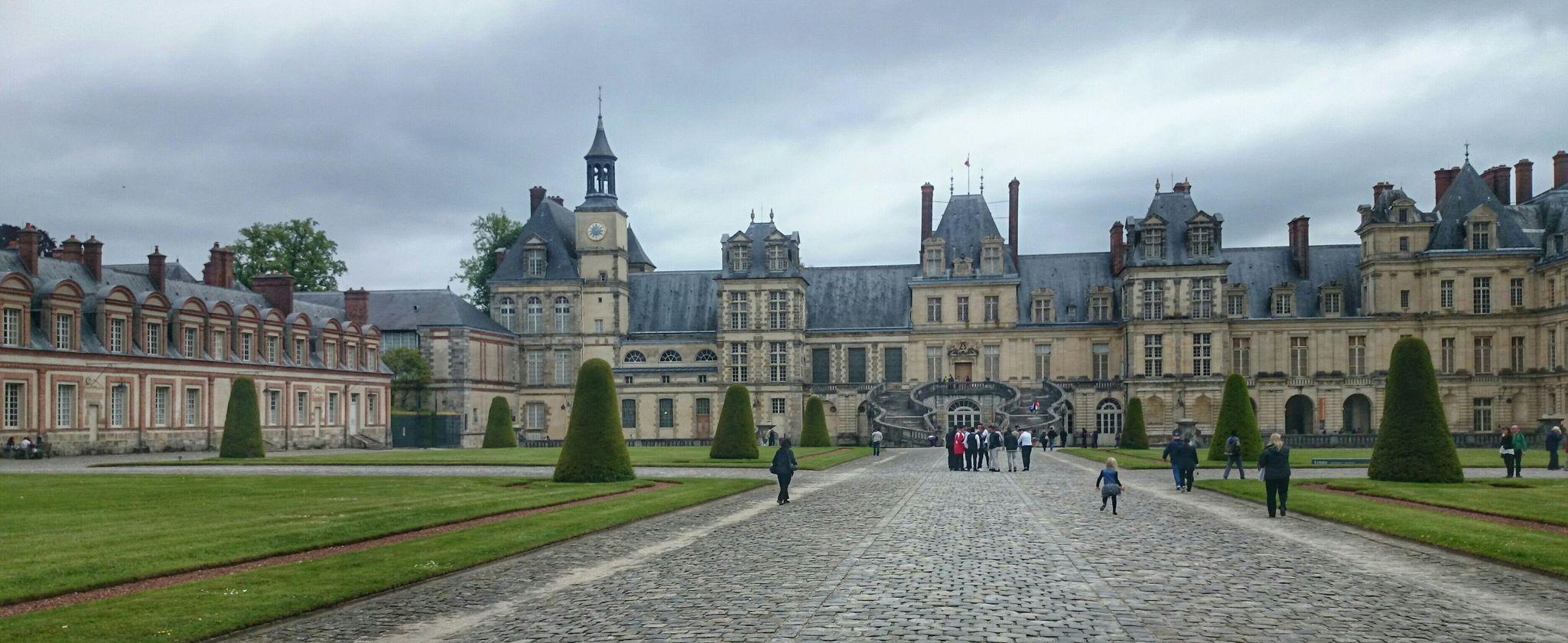 France Francia Castello Fontainebleau