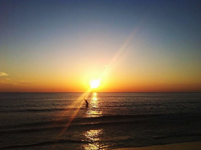 What a Beautiful Sunset !! Beautiful Nature Check This Out Beautiful Day Beach Life Sunset Sea Beach Lover Taken By Me