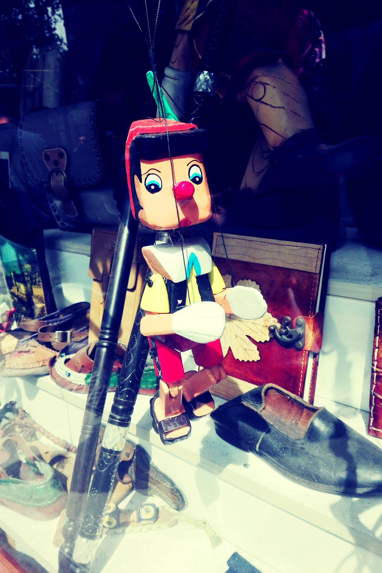 Pinochio Puppets Handmade Nice