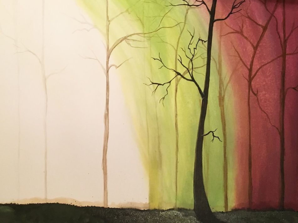 Tree Nature Drawing Art Youngartist Selfmade First Eyeem Photo Acrylic Painting