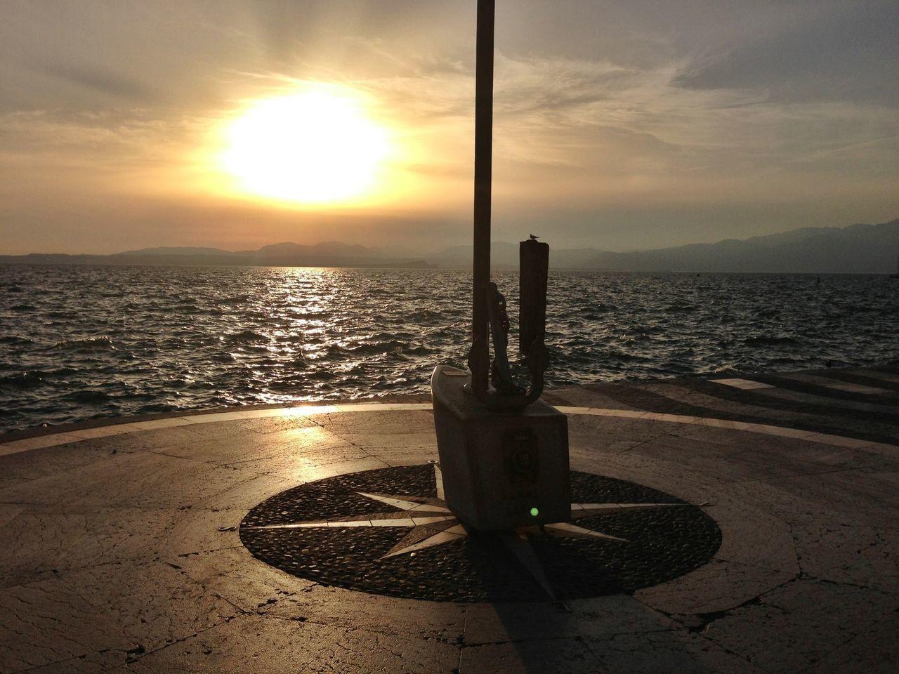 Water_collection Water Lago Di Garda Sunset