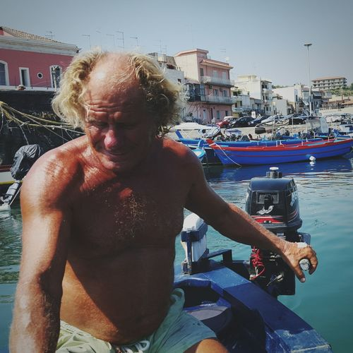 Location scouting day 3. This is the man!Coldfocus RedBull Videoproduction Catania Acitrezza