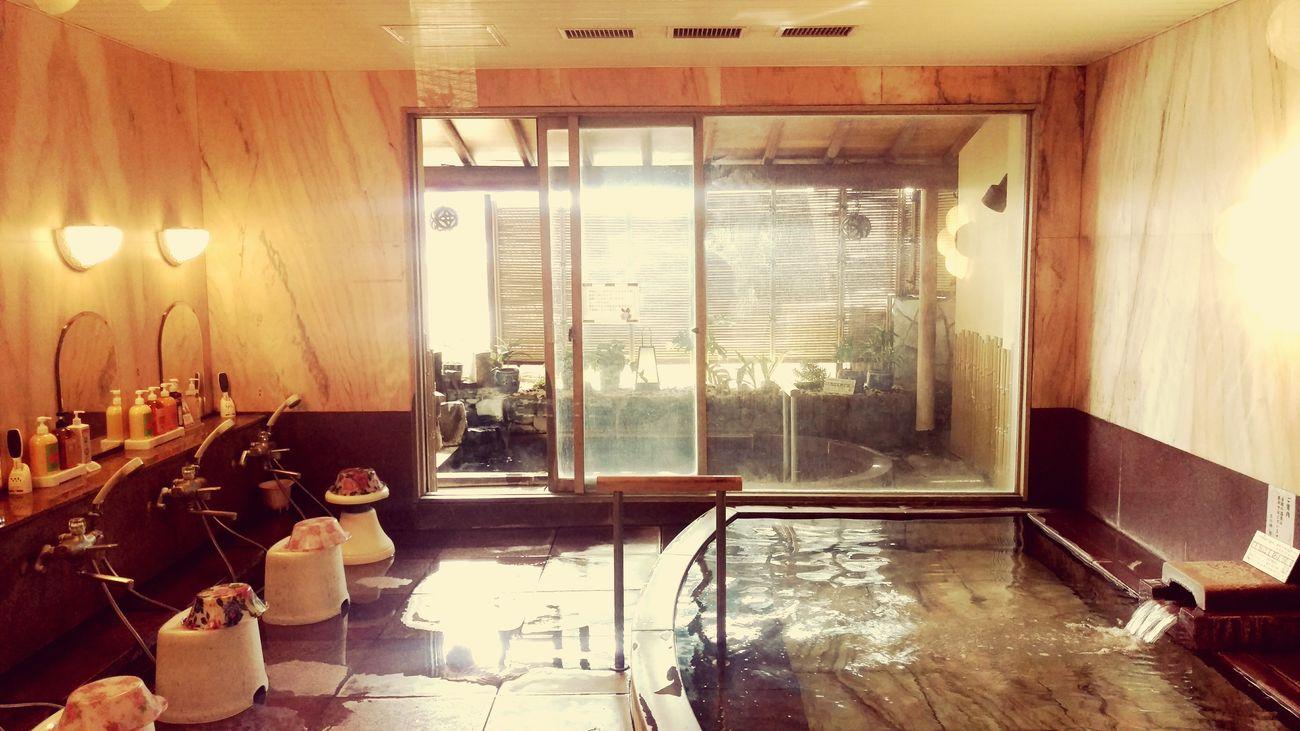 Window Indoors  No People Onsen Bath Time Japan